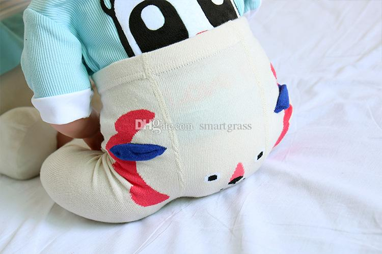 Cute Baby Leggings Animal Design Newborn Long Pants Spring Autumn Winter Cotton Toddler Girl Leggings 3 designs for choose