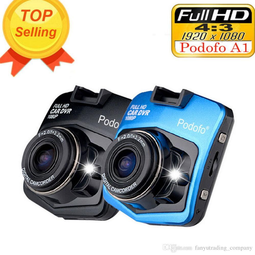 2017 New Original Podofo A1 HD 1080 P Vision Nocturne Voiture DVR Caméra Tableau de Bord Enregistreur Vidéo Dash Cam G-capteur Livraison Gratuite