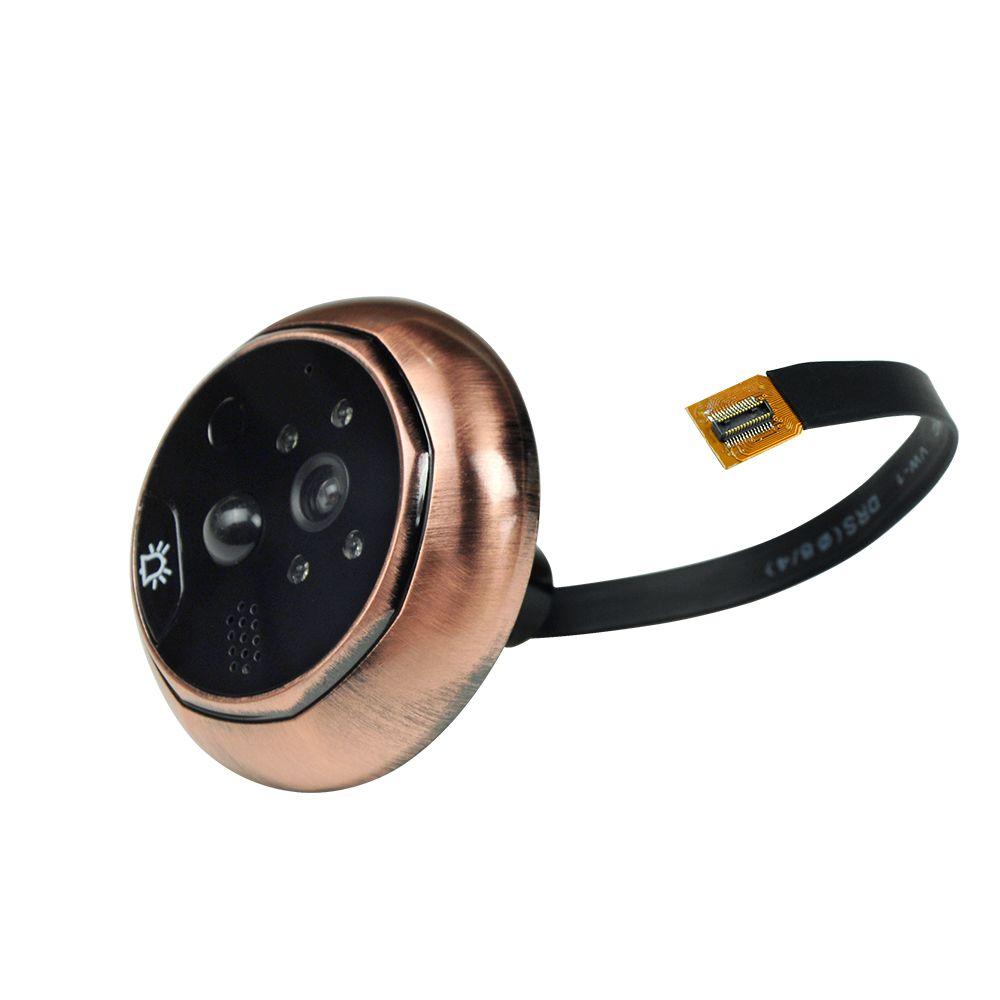 4,3 pouces moniteur vidéo porte caméra 3.0MP 160 degrés spectateur porte peephole porte sécurité à domicile 16 Go