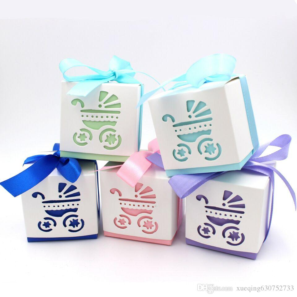 Packaging Supplier Cute Frame Feet Candy Box with Ribbon Biscuit Box ...