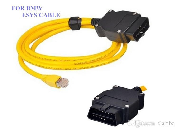 ESYS Data For BMW ENET Ethernet OBD Interface E-SYS ICOM Coding for F-serie icom a2 for bmw diagnostic cable