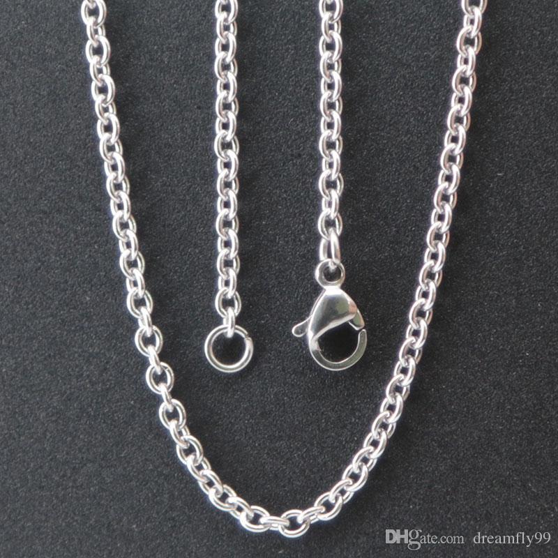10 adet süper düşük fiyat Gümüş Takı Paslanmaz Çelik 18