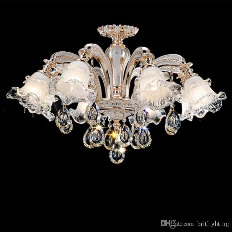 European style hotel crystal chandelier living room bedroom european style hotel crystal chandelier living room bedroom chandelier dining room lamp simple modern atmosphere duplex floor pndant lights farmhouse aloadofball Image collections