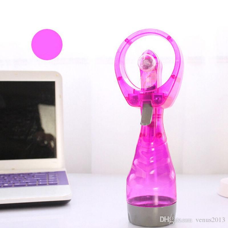 Handheld water spray Mini fan beauty rechargeable Portable Fashion Mini Water Spray Cooling Fan Mist