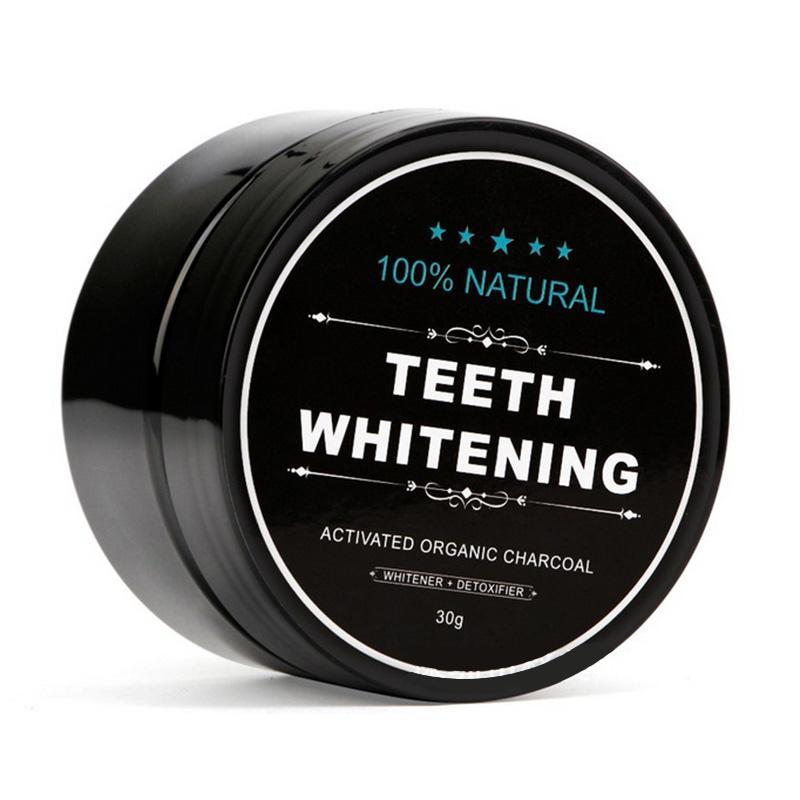 Sbiancamento dei denti in polvere Natura bambù carbone attivo sorriso polvere decontaminazione dente giallo macchia di bambù dentifricio cura orale 3006006