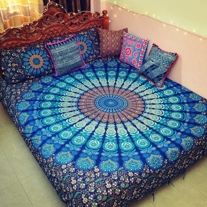 Ethnic Tapestry Yoga Mat Home Decorative Tapestry Sheets