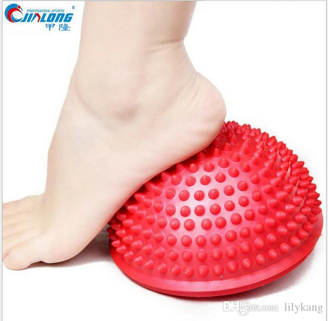Yoga Half Ball Physical Fitness Appliance Exercise Balance Ball Massage Point Stepping Stones Balance Ball for Kids adult