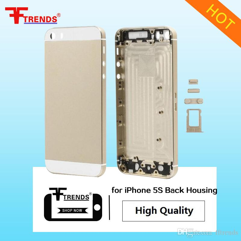 Yüksek Kalite A + + + iPhone 5 5C 5 S 6 6 Artı 6 S 6 Splus Artı Konut Arka Pil Kapağı Orta Çerçeve Arka Metal 10 adet / grup