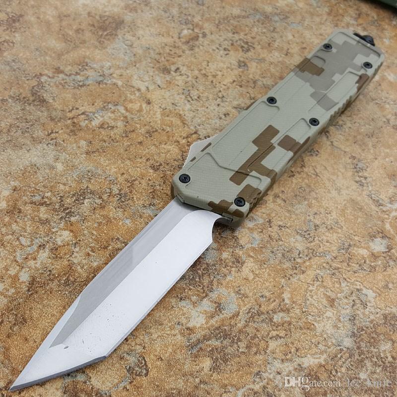 Mi raccomando mi esercito camouflage serie 3.5 pollice caccia pieghevole tasca di sopravvivenza coltello regalo di natale gli uomini copie 1 pz