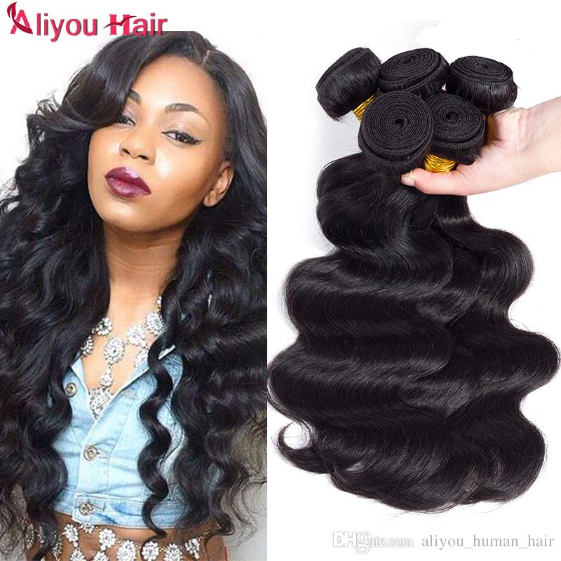 Top Mongolian Virgin Human Hair Weave Bundles Wholesale Cheap Remy Braiding Hair  Extensions Body Wave Human Hair Ponytail For Black Women Deep Wave Human ... d629e3a757