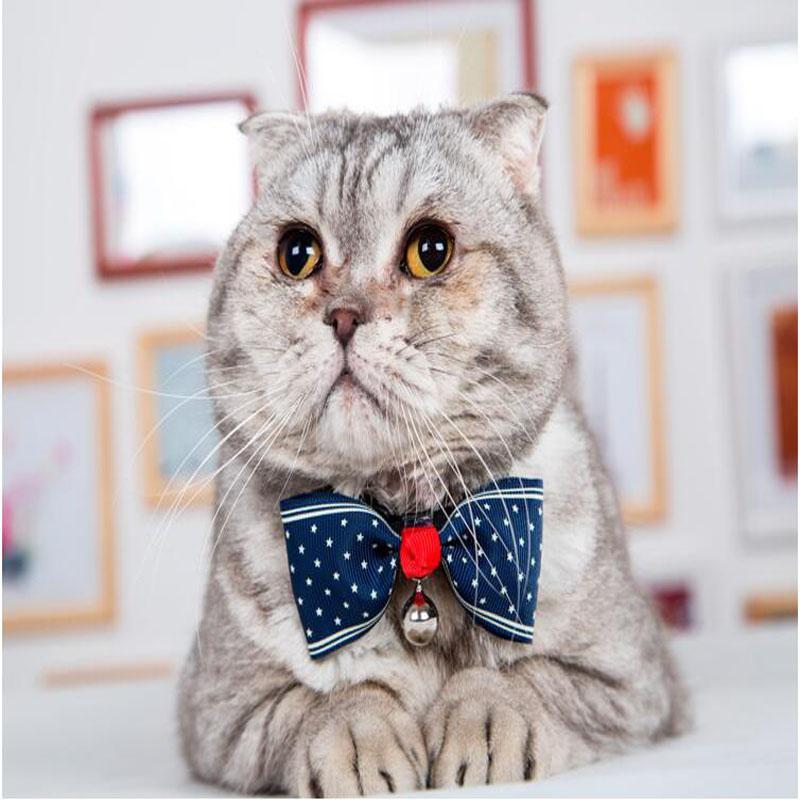 Fashion Cute Pet Cat Dog Puppy Pet Bow Neck Tie Necktie Gift Acccessory Collar Adjustable DHL