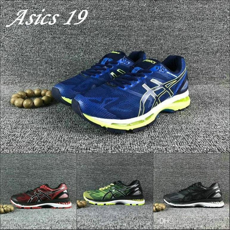 hot sale online b58a7 fdee6 2019 Asics Gel-Nimbus 19 Men Running Shoes T700N 9099 9023 Best Quality  Original Sport Sneakers Designer Shoes Size 40-45