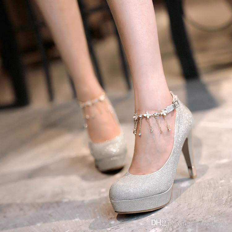 glass wedding shoes. 2017 summer fashion diamond bridal shoes high with a word type strap glass slipper wedding sandals pumps heels mens loafers from s