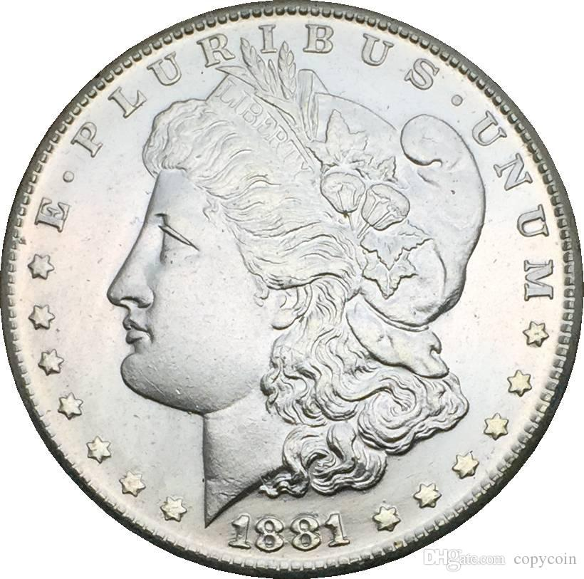 Großhandel Die Vereinigten Staaten Münzen Können Aus Versilbertem