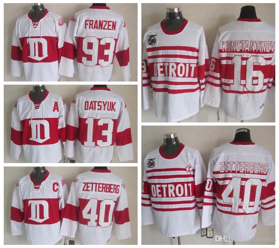 ... get 2019 mens detroit red wings hockey jersey 16 vladimir konstantinov  13 pavel datsyuk 40 henrik d34ef8a0a