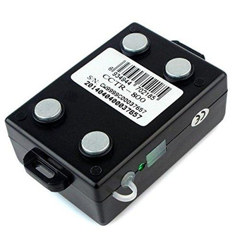 El perseguidor inalámbrico del GPS del coche TK800 Quad-Band antirrobo incorporó la antena y el imán impermeabilizan la función de la cerca de Geo GPRS Geo