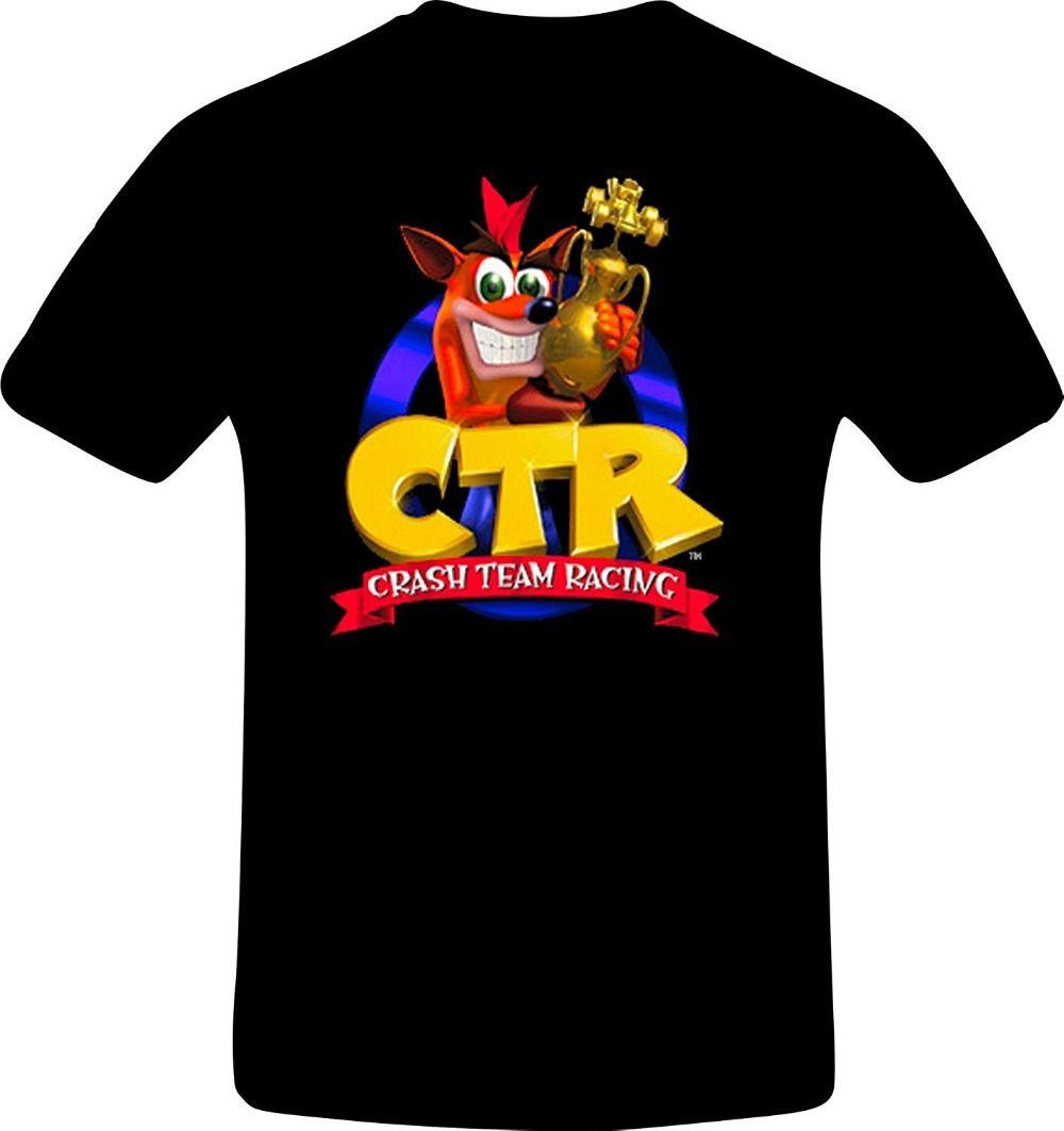 2017 Summer Style T Shirt Men Fashion Crash Bandicoot, Best ...
