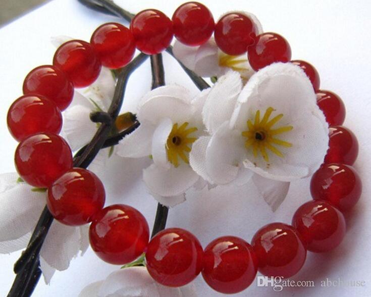 Genuine natural ágata vermelha pulseira de cristal feminino ágata vermelha pulseiras Valentine star com dinheiro para enviar sua namorada frete grátis