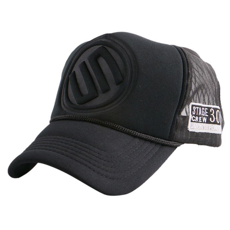 cbd2e78b882 Snapback Mesh Baseball Cap Outdoor Summer Boy Girls Sports Hat ...