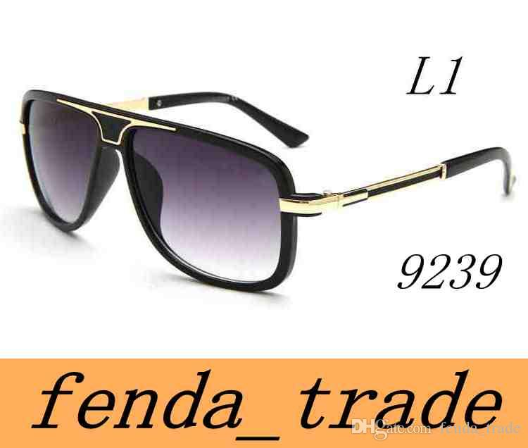5b9011ddcd27a The New Men Women FACE Sunglasses 9239 Fashion Big Metal Frame ...