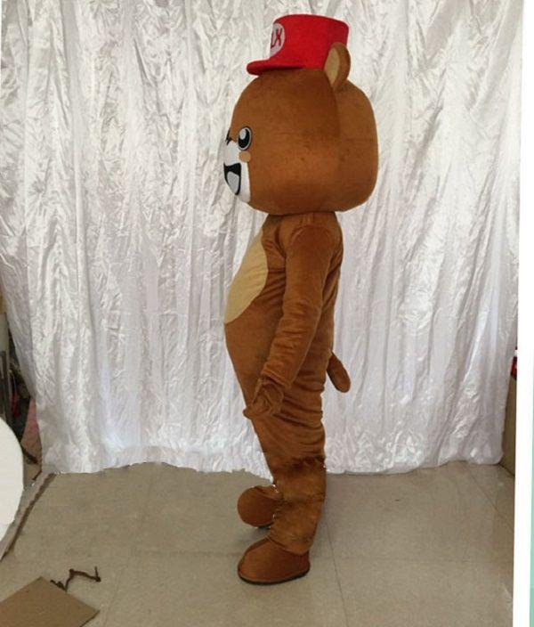 Brown bear propose cartoon dolls mascot costumes props costumes Halloween