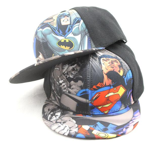 Kids Baseball Caps Children Superman Caps Baby Sun Hats Superman Baseball  Caps Cartoon Superhero Batman Snapbacks For Baby Boy Flexfit Hats For Men  From ... b495d5a4f46