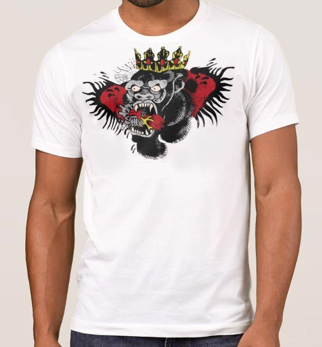 ea34156a Summer Cool CONOR MCGREGOR Tattoo T-Shirt Top. Gorilla UFC Notorious MMA  Shirt. 4 Colours Personality Men's T-shirt