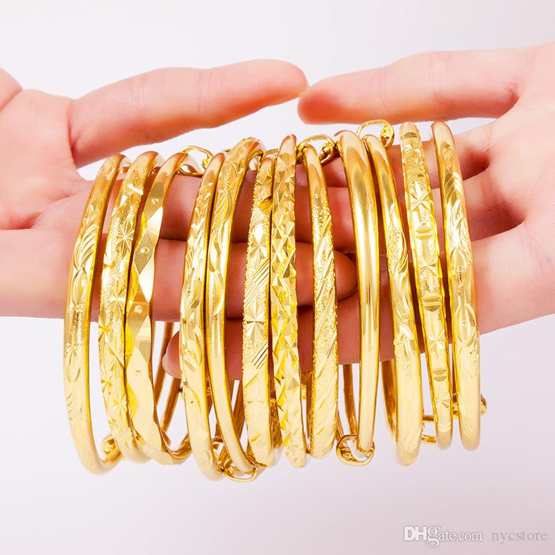 designer gold size bracelets buy sukkhi pr artificial armlets kada alloy yellow free original bangles jewellery