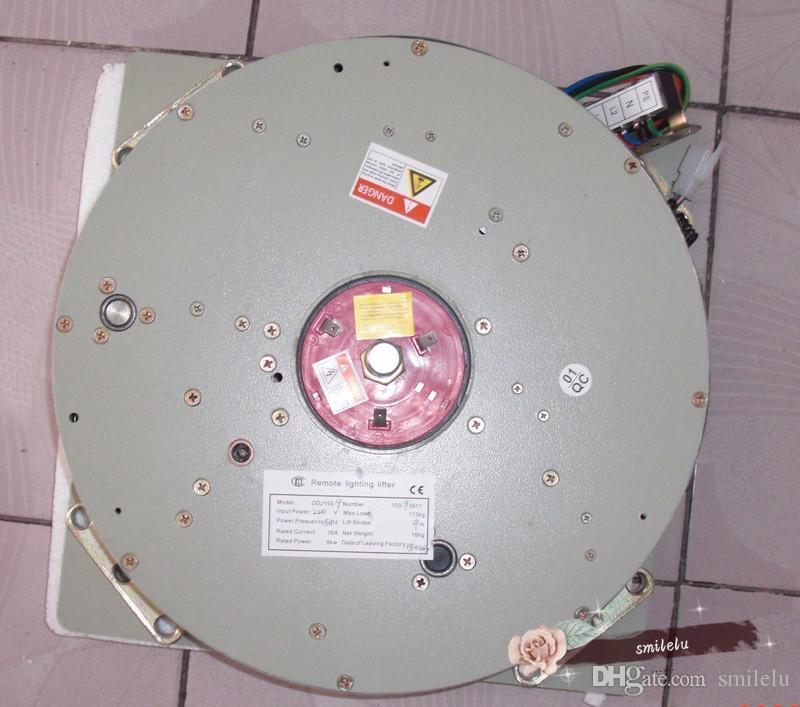 DDJ100KG 5 M Avize Vinç Işık Kaldırma Sistemi Lamba Vinç Aydınlatma Kaldırıcı Avize Asansör 110 V-120 V, 220 V-240 V, ücretsiz Kargo