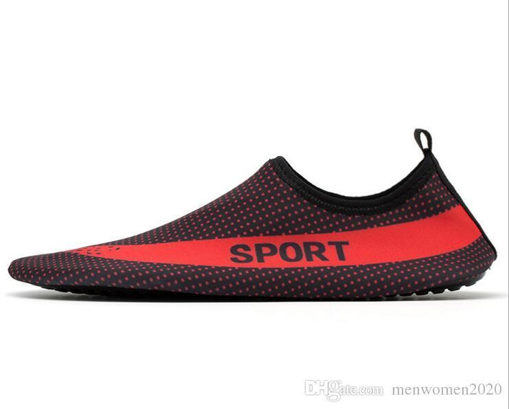 8d4a139bc59 2017 Water Skin Shoes Swimming Diving Aqua Slip On Socks Yoga ...