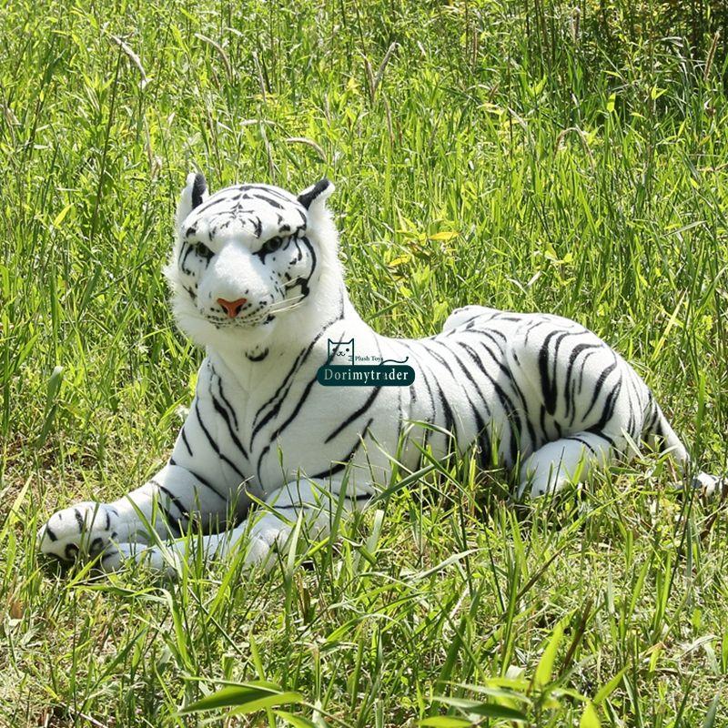 Dorimytrader Big Soft Simulated Forest Animal Tiger Plush Toy