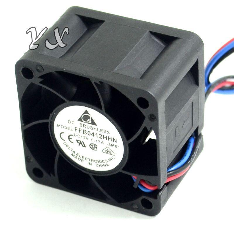 Original FFB0412HHN -5M01 4028 4cm 12V 0.17A 3 ventilador de refrigeración del servidor para Delta 40 * 40 * 28mm