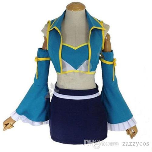 Lucy Heartfilia Fairy Tail 7 Years Later Party Dress Outfit Cosplay