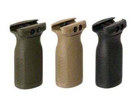Versione di marcatura PTS Vertical Grip fit fucile Rail Foregrip BK / DE
