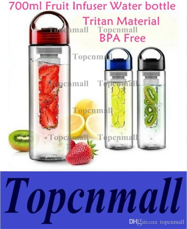 9f012270a661 700ML Fruit Infuser Water Bottle for Sports Health Juice Maker Best BPA  Free 3 Colors Lemon Bottles by DHL