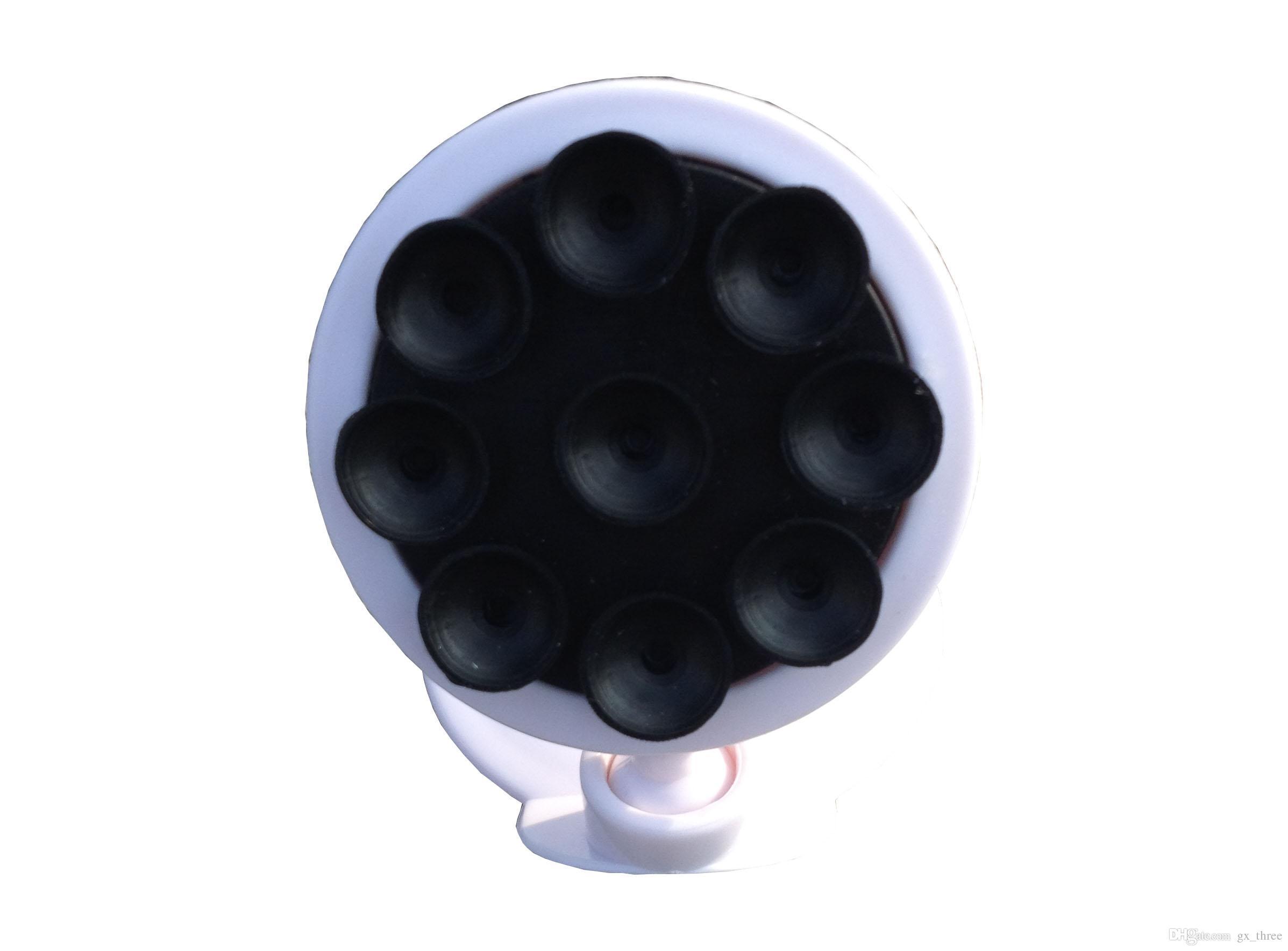 Cor preta venda quente kickstands Mobilephone Multifuction Colocação de luz e pequeno Desktop e Carro Automóvel Veículo Celular Otário Stand