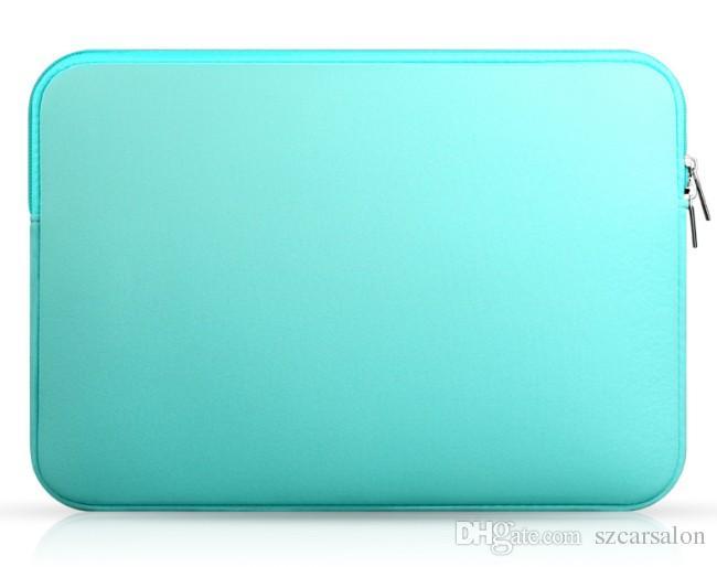Saco do portátil colorido computador Sleeve Neoprene Soft Case Capa Bolsa Notebook 12