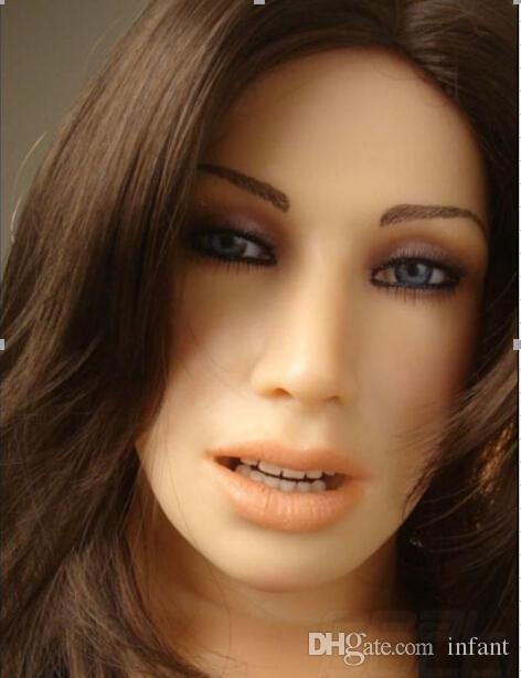 Bambole del sesso orale, bambola del sesso, bambola gonfiabile, bambola del sesso del silicone, prodotti del sesso, giocattoli del sesso l'uomo, nero, biondo