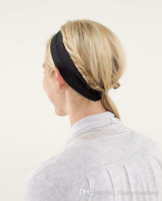 Mujeres Sombreros Ropa deportiva Yoga Desgaste activo Sólido Gimnasio Correr Fitness Ropa para el cabello Dama Chica Elástica Confort Aire libre Ejercicio Hairbands