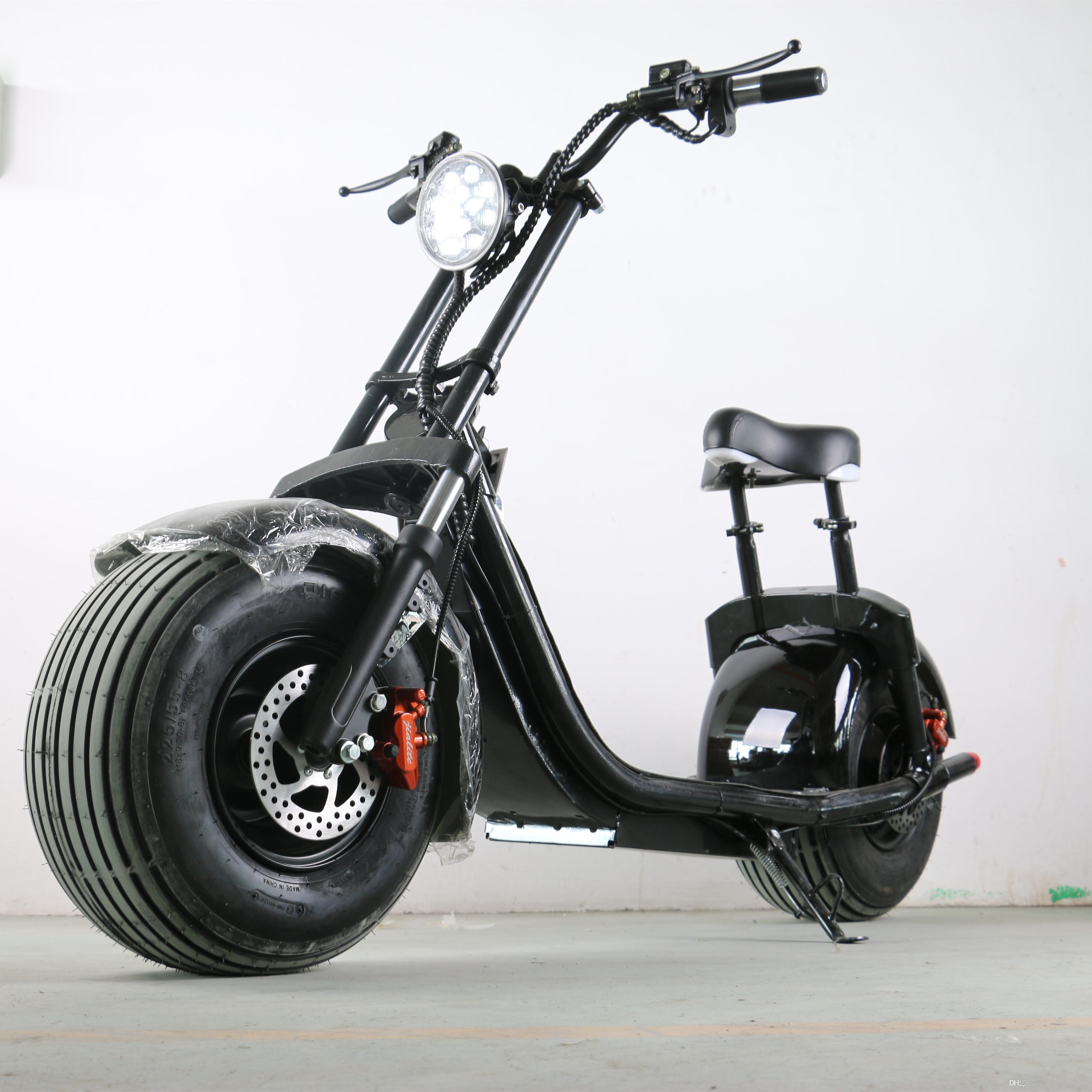 compre 1000w scooter el trico de moda nova estilo harley. Black Bedroom Furniture Sets. Home Design Ideas