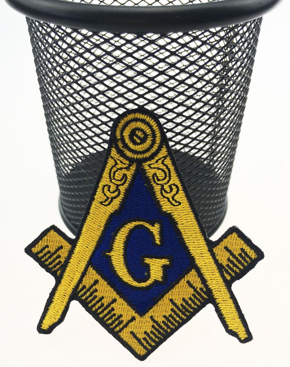 뜨거운 판매! 모든 의류에 프리메이슨의 로고 패치 자수 철에 의류 프리메이슨 결사의 상징 메이슨 G 광장 나침반 패치 바느질