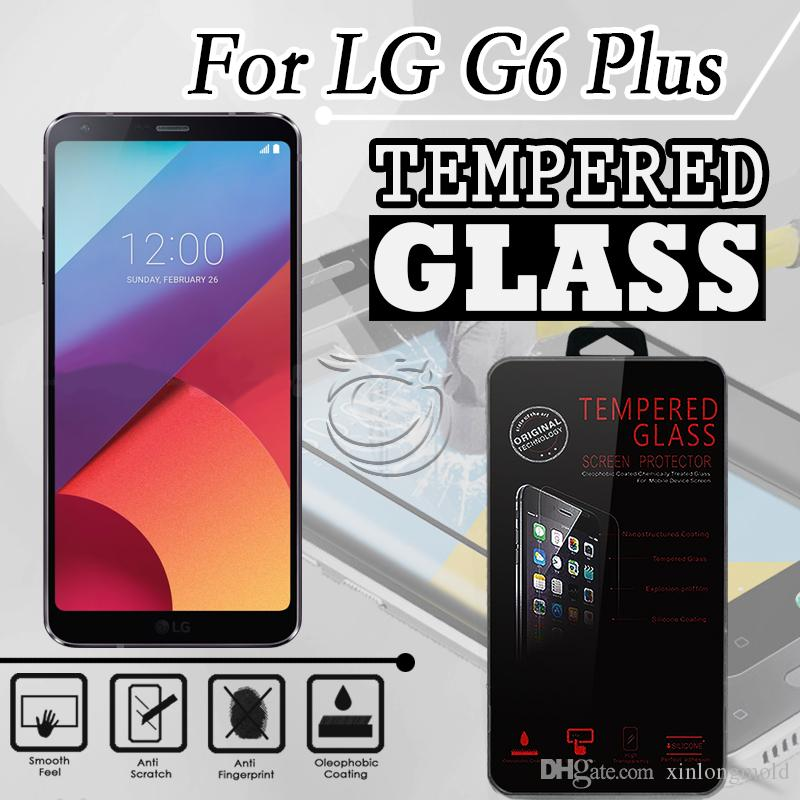 Tempered Glass For T-mobile Revvl T1 T2 T3 PRO LG G6 PLUS PRO LV9 X VENTURE  Screen 9H Protectors with retail crystal package