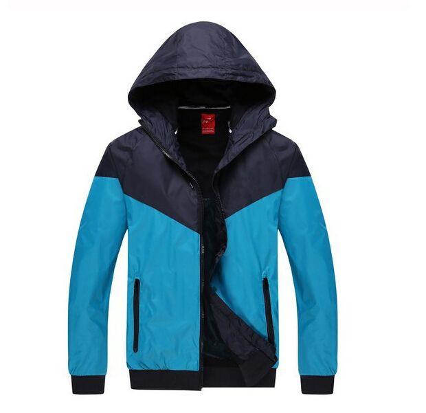 Hot New Fashion Men and Women Pullover Hoodies Lover Fall Thin Windrunner Light Windbreak Zipper Hoodies