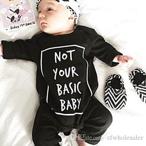 Enfant Boutique Vêtements Bébé Garçon Fille Barboteuse Costume Toddler Outfit Cotton Onesies Infantial Jumpsuit Legging Warm Body Bodies Noir