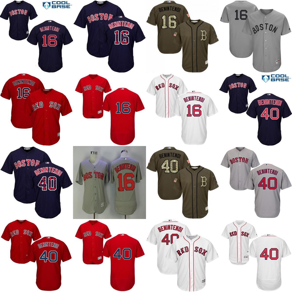 ... 2017 2017 Factory Outlet Mens Ladys Kids Boston Red Sox 16 40 Andrew  Benintendi White Red ... 7620882c9f5