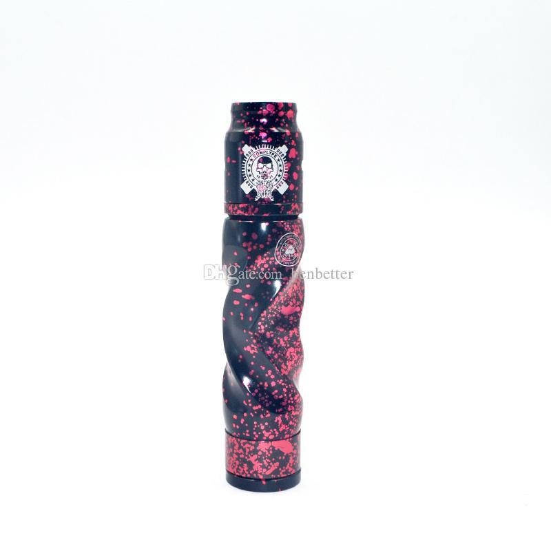 Kit de modification mécanique rapide de barbe à papa de bonbons AV Best Lyric Mod Mod 18650 de la batterie Mod Vape Kit pour Wholesale DHL