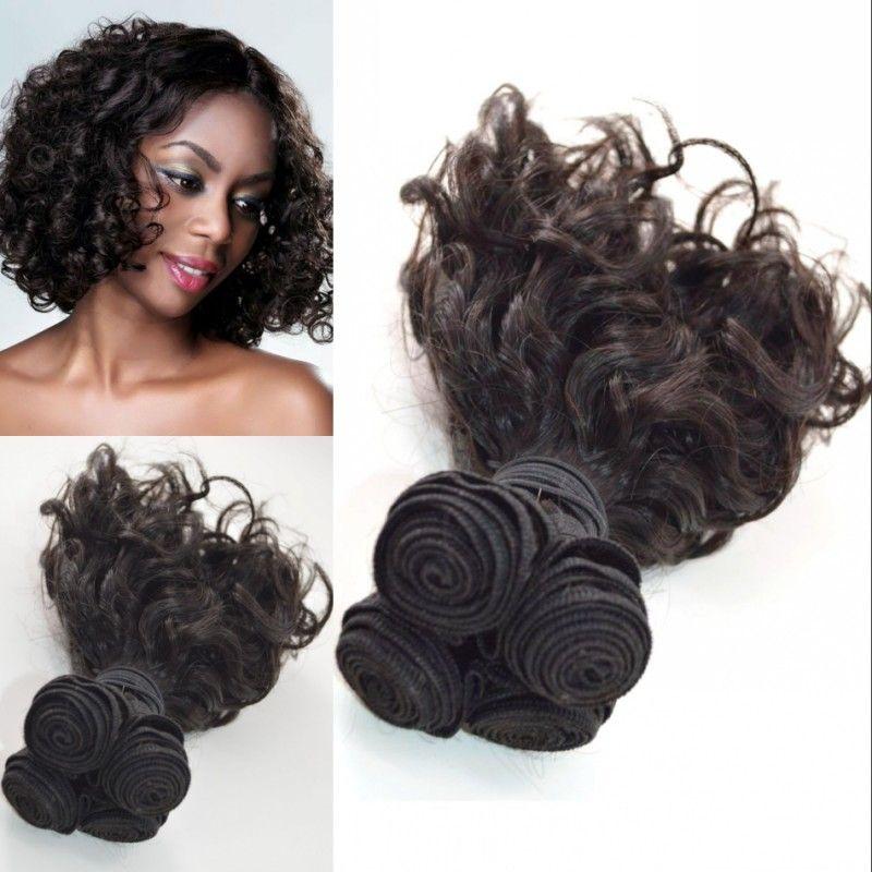 3 Bundles Natural Color Mongolian Human Hair Weaves 8 30 Inch Double