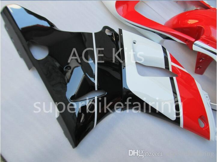 3Gifts New Hot sales bike Fairings Kits For YAMAHA YZF-R1 1998 1999 r1 98 99 YZF1000 Cool Black White Red SX7