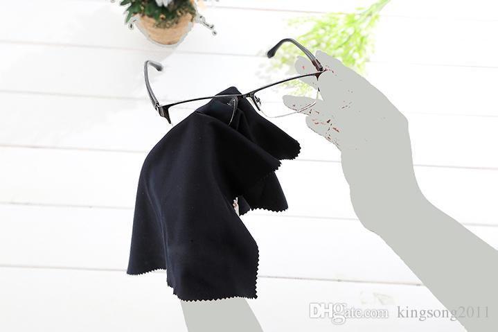40x40 cm Grande tamanho de laboratório Roupas Acessórios Óculos Pano de limpeza Óculos de sol de microfibra Óculos Óculos de tela da câmera Óculos espanador Toalhetes