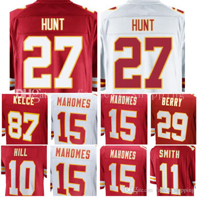 d3f670139 ... 27 Kareem Hunt 10 Tyreek Hill 11 Alex Smith Jersey 15 Patrick Mahomes  II 29 Patrick 2017 New Kansas ...
